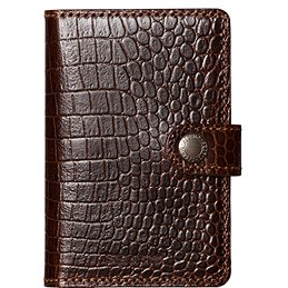 Korthållare Card protector miniwallet Amazon Brown